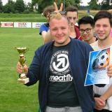 Dorost na turnaji v Předíně Petrys s pohárem