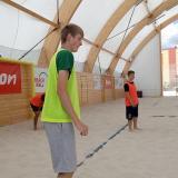 Trénink v písku v Pelhřimově 1