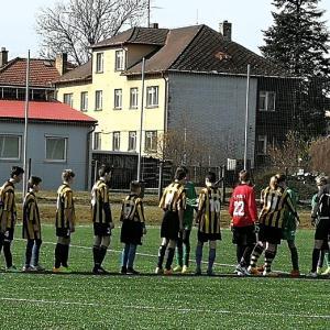 Příprava starších žáků v Kamenici n. Lipou