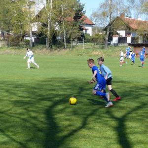 Ze zápasu ml. žáků s FKM Vysočina