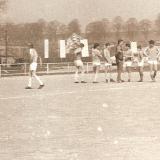 Dorost před zápasem v Polné 1989