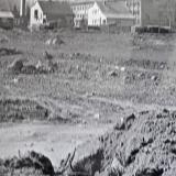 Pohled na budoucí areál rok 1981