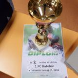 Pohár za druhé místo v Telči