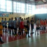 Nástup na turnaji v Telči