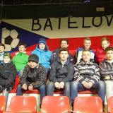 Žáci na zápase U21 Česko - Anglie